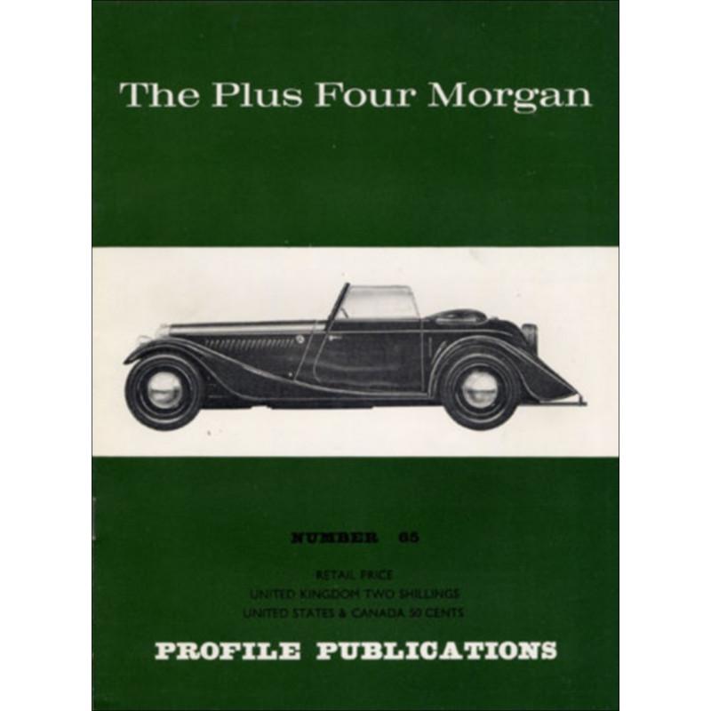 THE PLUS FOUR MORGAN - PROFILE PUBLICATIONS N°65 Librairie Automobile SPE PP065
