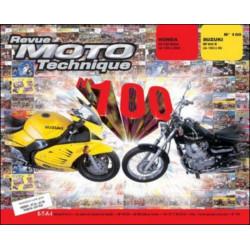 REVUE MOTO TECHNIQUE SUZUKI RF 600 R de 1993 à 1996 - RMT 100 Librairie Automobile SPE 9782726891100
