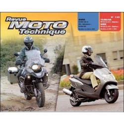 REVUE MOTO TECHNIQUE YAMAHA + MBK YP 125 D + E de 2001 à 2007- RMT 145