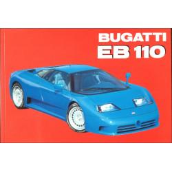 BUGATTI EB 110 Librairie Automobile SPE 9788885880535