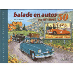BALADES EN AUTOS DES ANNEES 50 Librairie Automobile SPE 9782847991376