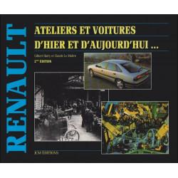 RENAULT, ATELIERS ET VOITURES D'HIER ET D'AUJOURD'HUI..(2° édition) Librairie Automobile SPE 9782902667178