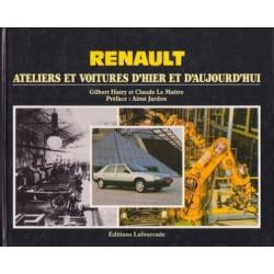 RENAULT, ATELIERS ET VOITURES D'HIER ET D'AUJOURD'HUI..(1° édition) Librairie Automobile SPE 9782902667093