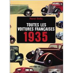 TOUTES LES VOITURES FRANÇAISES 1935 - René BELLU Librairie Automobile SPE 9782866650025