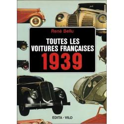 TOUTES LES VOITURES FRANCAISES 1939 - BELLU