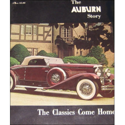 THE AUBURN STORY, THE CLASSICS COME HOME Librairie Automobile SPE AubStory