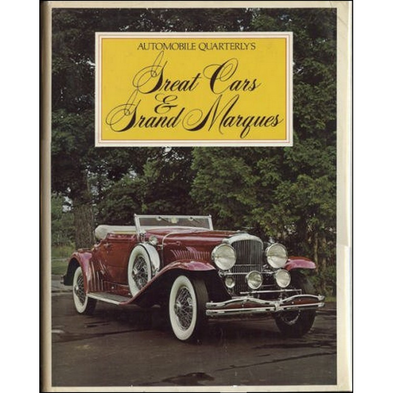 GREAT CARS and GRAND MARQUES Librairie Automobile SPE 9780525116127