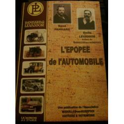 L'ÉPOPÉE DE L'AUTOMOBILE PANHARD ET LEVASSOR Librairie Automobile SPE 9782951849235