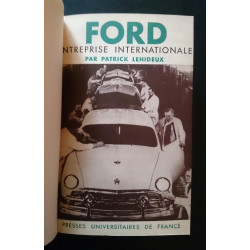 FORD ENTREPRISE INTERNATIONALE ( Edition Originale 1953 ) Librairie Automobile SPE MufFORD