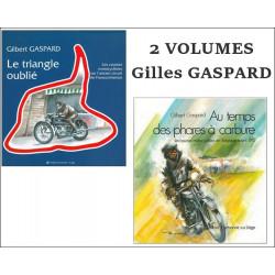 LES COURSES MOTOCYCLISTES EN BELGIQUE ( 2 VOLS ) Librairie Automobile SPE GASPARD