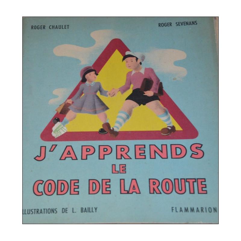 J'apprends le code de la route - 1952 Librairie Automobile SPE code 1952