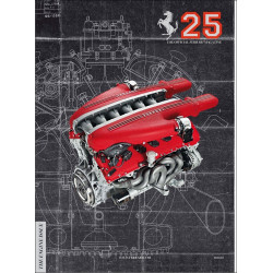 THE OFFICIAL FERRARI MAGAZINE N°25 - THE ENGINE ISSUE Librairie Automobile SPE FERRARI 25