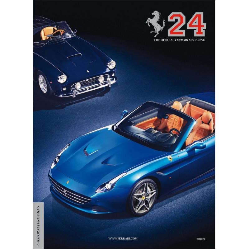 THE OFFICIAL FERRARI MAGAZINE N°24 - CALIFORNIA DREAMING Librairie Automobile SPE FERRARI 24