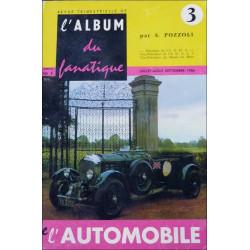 L'ALBUM DU FANATIQUE DE L'AUTOMOBILE N°3 Librairie Automobile SPE FANATIQUE 3