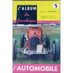 L'ALBUM DU FANATIQUE DE L'AUTOMOBILE N°5 Librairie Automobile SPE FANATIQUE 5