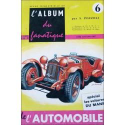 L'ALBUM DU FANATIQUE DE L'AUTOMOBILE N°6 Librairie Automobile SPE FANATIQUE 6