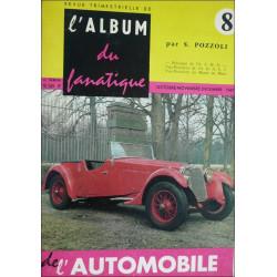 L'ALBUM DU FANATIQUE DE L'AUTOMOBILE N°8 Librairie Automobile SPE FANATIQUE 8
