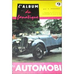 L'ALBUM DU FANATIQUE DE L'AUTOMOBILE N°9 Librairie Automobile SPE FANATIQUE 9