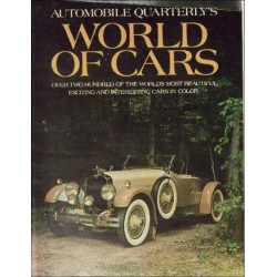 WORLD OF CARS - AUTOMOBILE QUARTERLY'S