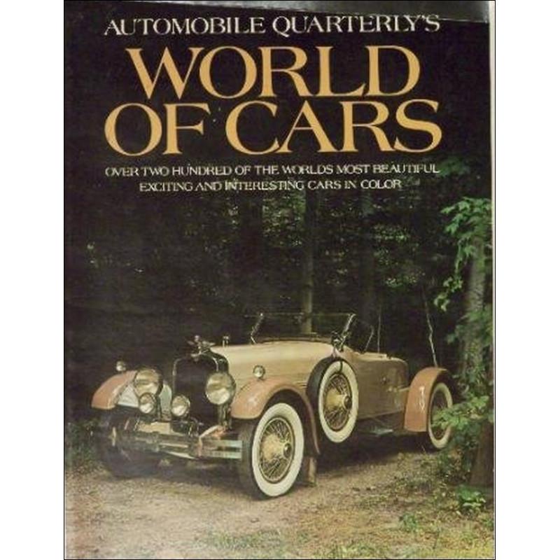 WORLD OF CARS - AUTOMOBILE QUARTERLY'S Librairie Automobile SPE 9780915038565