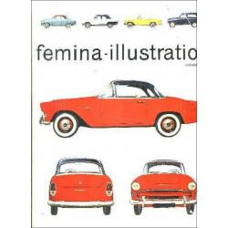 FEMINA ILLUSTRATION OCTOBRE 1956- NUMERO SPECIAL AUTO Librairie Automobile SPE felmina Auto
