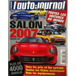 L'AUTO JOURNAL SALON 2007 Librairie Automobile SPE salon2007