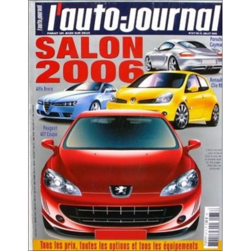 L'AUTO JOURNAL SALON 2006 Librairie Automobile SPE salon2006