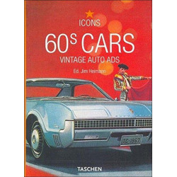 60s CARS - VINTAGE AUTO ADS (ICONS)
