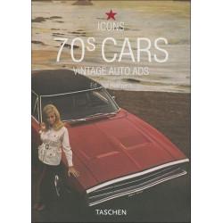 70s CARS - VINTAGE AUTO CARS (ICONS) Librairie Automobile SPE 9783822848005