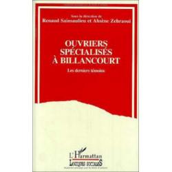 OUVRIERS SPÉCIALISÉS A BILLANCOURT , LES DERNIERS TÉMOINS Librairie Automobile SPE 9782738430243