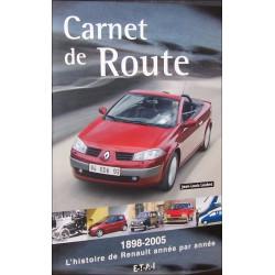 RENAULT 1898-2005 - L'HISTOIRE DE RENAULT ANNÉE PAR ANNÉE ( CARNET DE ROUTE ) Librairie Automobile SPE 2726887042
