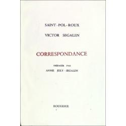 CORRESPONDANCE de SAINT-POL-ROUX et Victor Segalen Librairie Automobile SPE 9782856682517