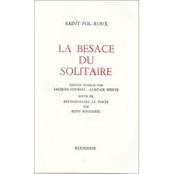 LA BESACE DU SOLITAIRE de SAINT-POL-ROUX Librairie Automobile SPE 9782856680650