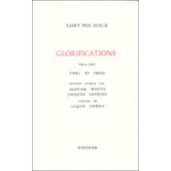 GLORIFICATIONS - 1914-1930 - VERS ET PROSE de SAINT-POL-ROUX Librairie Automobile SPE 9782856682494