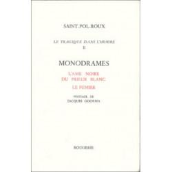 LE TRAGIQUE DANS L'HOMME - TOME 2 de SAINT-POL-ROUX Librairie Automobile SPE 9782856682456