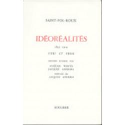 IDEOREALITES - 1895-1914 de SAINT-POL-ROUX Librairie Automobile SPE 9782856682487