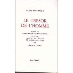 LE TRESOR DE L'HOMME de SAINT-POL-ROUX Librairie Automobile SPE 9782856682326