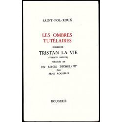 LES OMBRES TUTELAIRES de SAINT-POL-ROUX Librairie Automobile SPE 9782856681121