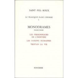 LE TRAGIQUE DANS L'HOMME - TOME 1 de SAINT-POL-ROUX Librairie Automobile SPE 9782856682449
