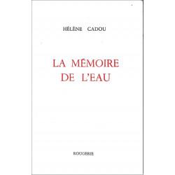 MEMOIRE DE L'EAU de HELENE CADOU Librairie Automobile SPE 9782856683200