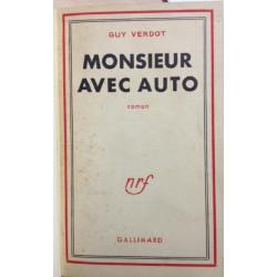 MONSIEUR AVEC AUTO - Roman