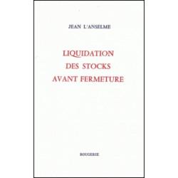 LIQUIDATION DES STOCKS AVANT FERMETURE de JEAN L' ANSELME Librairie Automobile SPE 9782856681756