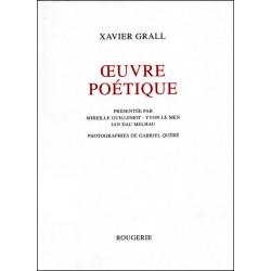 OEUVRE POÉTIQUE de XAVIER GRALL Librairie Automobile SPE 9782856681572