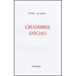 CHAMBRES D'ÉCHO de YVON LE MEN Librairie Automobile SPE 9782856681428