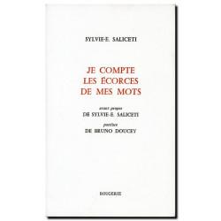 JE COMPTE LES ÉCORCES DE MES MOTS de SYLVIE SALICETI Librairie Automobile SPE 9782856681787