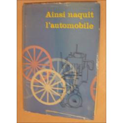 AINSI NAQUIT L'AUTOMOBILE (TOME 2) de JACQUES ICKX Librairie Automobile SPE ICKX Naquit