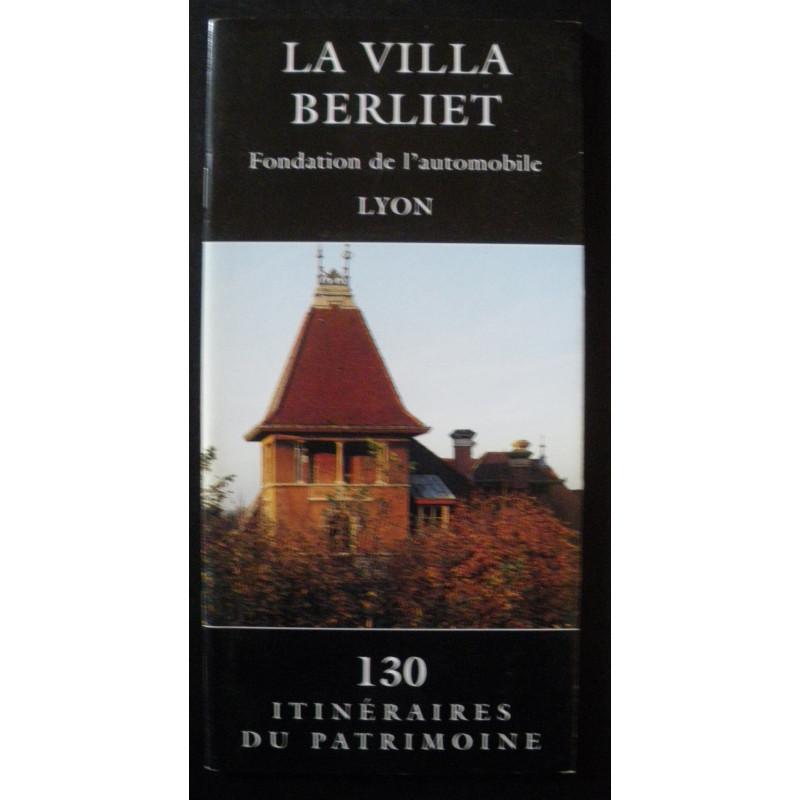 LA VILLA BERLIET - FONDATION DE L' AUTOMOBILE LYON Marius Berliet