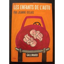 LES ENFANTS DE L' AUTO de JEANNE DELAIS Librairie Automobile SPE ENFANTS AUTO