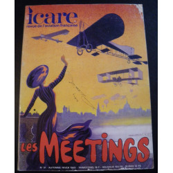 REVUE DE L'AVIATION FRANÇAISE ICARE N°51 LES MEETINGS