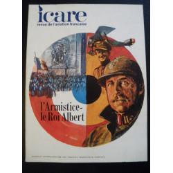 REVUE DE L'AVIATION FRANÇAISE ICARE N°47 L'ARMISTICE , LE ROI ALBERT Librairie Automobile SPE ICARE 47
